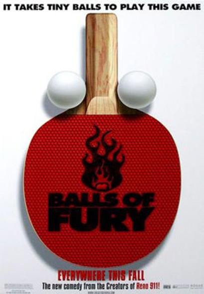 BALLS OF FURY (Double Sided Advance) ORIGINAL CINEMA POSTER