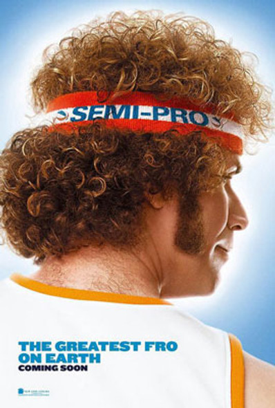 SEMI-PRO (Double Sided Advance) ORIGINAL CINEMA POSTER