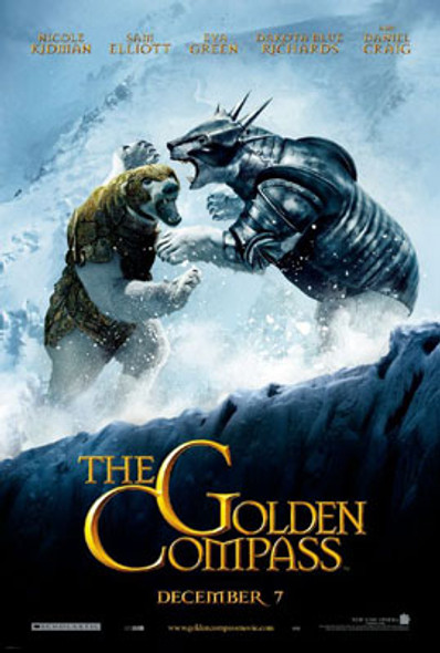 THE GOLDEN COMPASS (Double Sided Advance Style B) ORIGINAL CINEMA POSTER