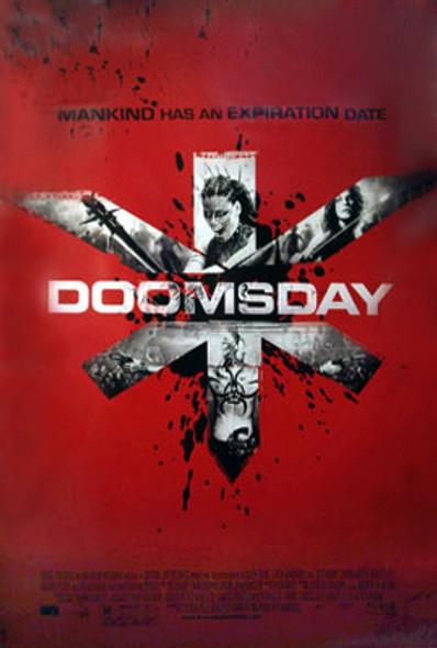DOOMSDAY (Double Sided Regular) ORIGINAL CINEMA POSTER