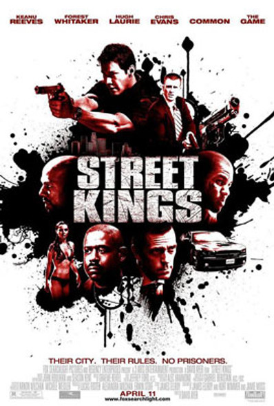STREET KINGS (Double Sided Regular) ORIGINAL CINEMA POSTER
