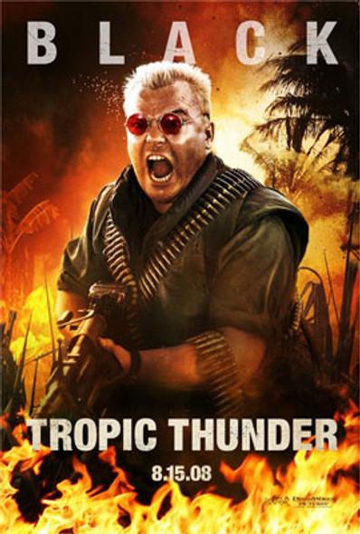 TROPIC THUNDER (Double Sided Advance Style B) ORIGINAL CINEMA POSTER