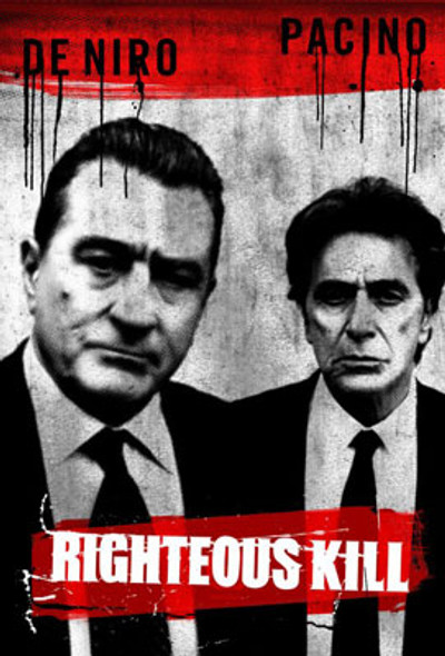 RIGHTEOUS KILL (Single Sided Advance) ORIGINAL CINEMA POSTER