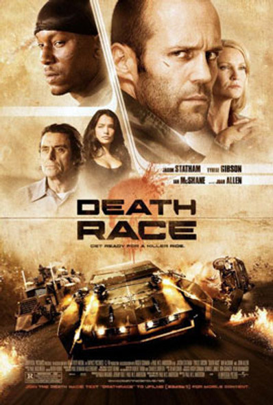 DEATH RACE (DOUBLE SIDED) ORIGINAL CINEMA POSTER