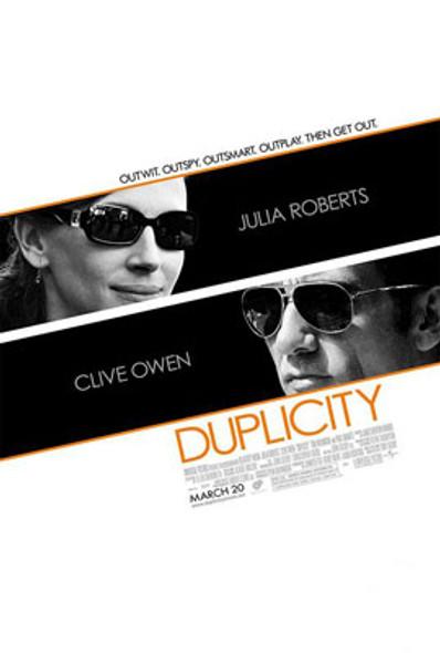 DUPLICITY ORIGINAL CINEMA POSTER