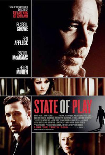 STATE OF PLAY ORIGINAL CINEMA POSTER