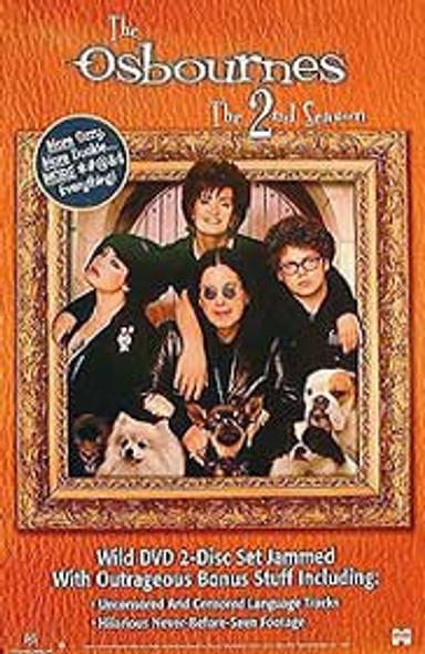 THE OSBOURNES (2nd Season) ORIGINAL TV POSTER