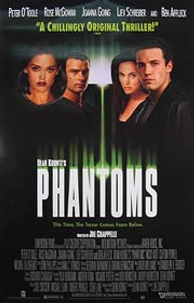 PHANTOMS (Video) ORIGINAL VIDEO/DVD AD POSTER