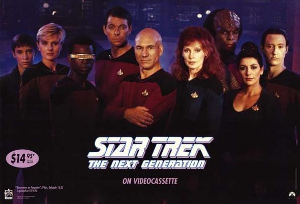 Star Trek: Next Generation Original Video Poster