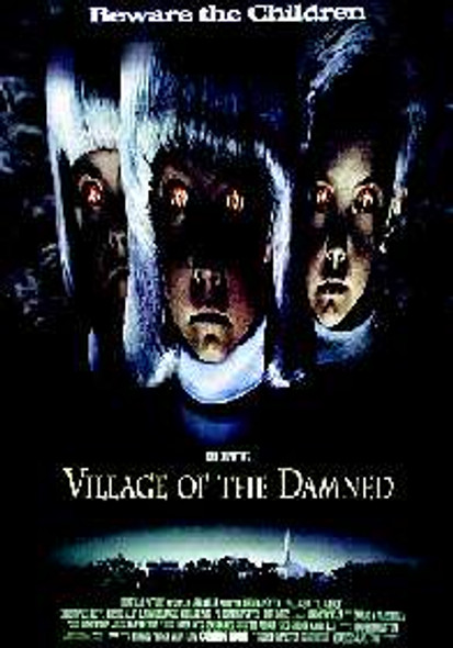 VILLAGE OF THE DAMNED (Reprint) REPRINT POSTER