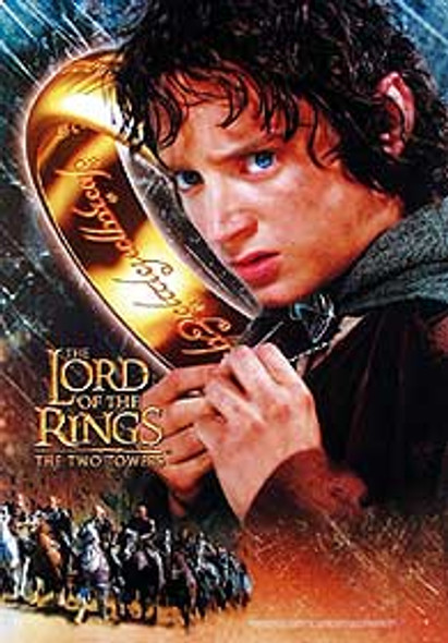 THE LORD OF THE RINGS: THE TWO TOWERS (Frodo Reprint) REPRINT POSTER