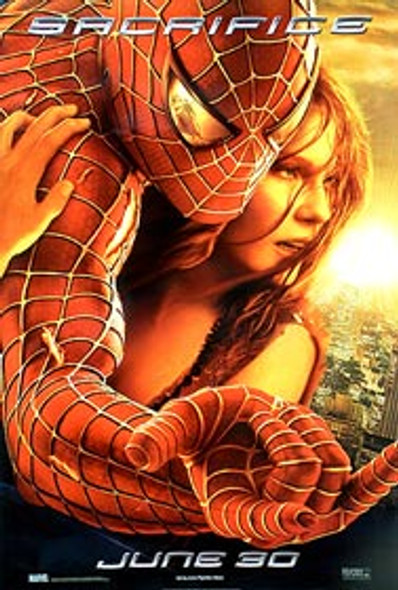 SPIDERMAN 2 (Sacrifice Reprint) REPRINT POSTER
