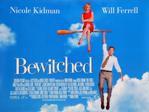BEWITCHED ORIGINAL CINEMA POSTER