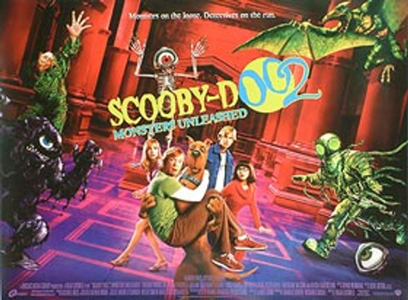 SCOOBY DOO 2 (DOUBLE SIDED) ORIGINAL CINEMA POSTER