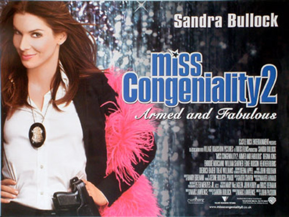 MISS CONGENIALITY 2 (DOUBLE SIDED) ORIGINAL CINEMA POSTER