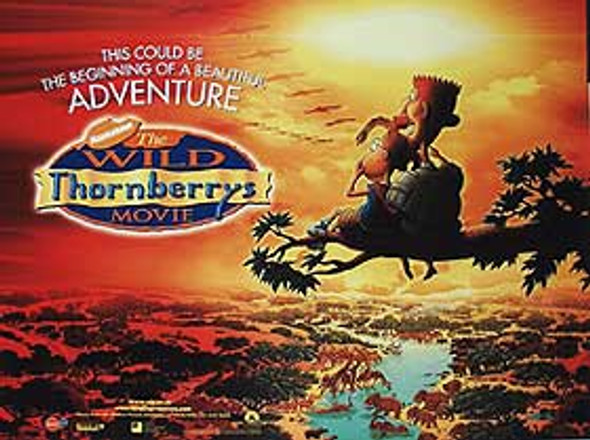 THE WILD THORNBERRY'S (DOUBLE SIDED) ORIGINAL CINEMA POSTER