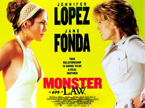 MONSTER IN LAW (Single Sided Regular) ORIGINAL CINEMA POSTER