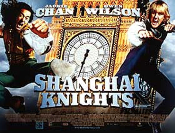 SHANGHAI KNIGHTS (DOUBLE SIDED) ORIGINAL CINEMA POSTER