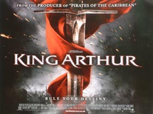 KING ARTHUR (Double Sided) ORIGINAL CINEMA POSTER