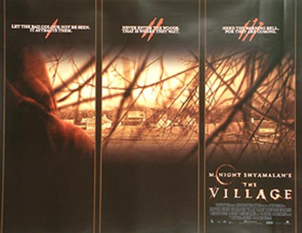 THE VILLAGE ORIGINAL CINEMA POSTER