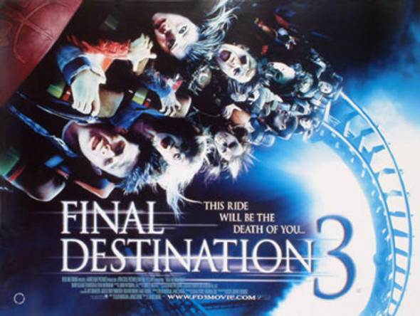 FINAL DESTINATION 3 (SINGLE SIDED) ORIGINAL CINEMA POSTER