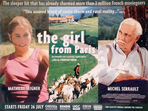 THE GIRL FROM PARIS ORIGINAL CINEMA POSTER