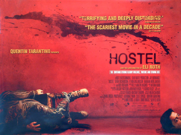 HOSTEL ORIGINAL CINEMA POSTER