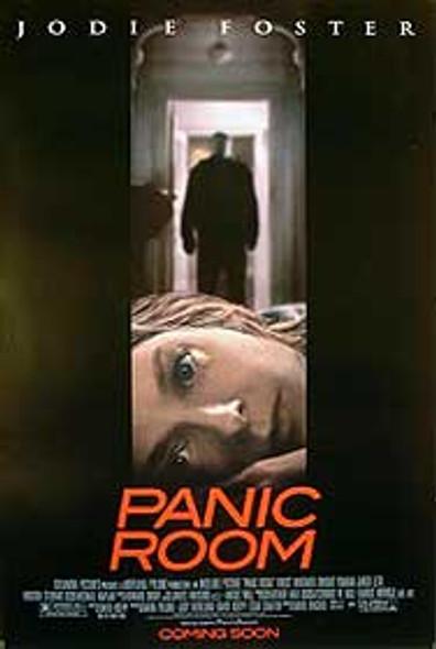 PANIC ROOM (Advance Single-sided) ORIGINAL CINEMA POSTER