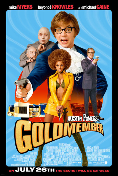 GOLDMEMBER (Double Sided) ORIGINAL CINEMA POSTER
