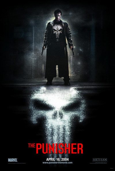 THE PUNISHER (Double Sided Advance Style B) ORIGINAL CINEMA POSTER