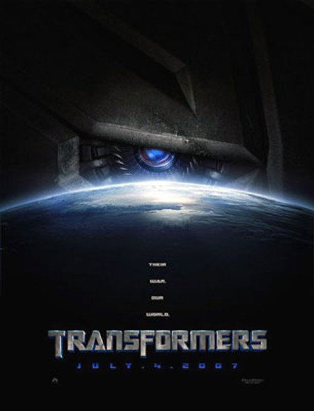 TRANSFORMERS (Double Sided Advance) ORIGINAL CINEMA POSTER