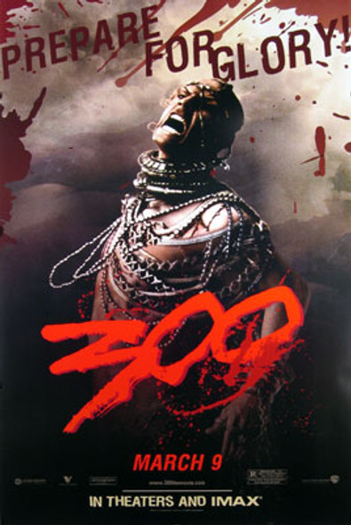 300 (Single Sided) ORIGINAL CINEMA POSTER