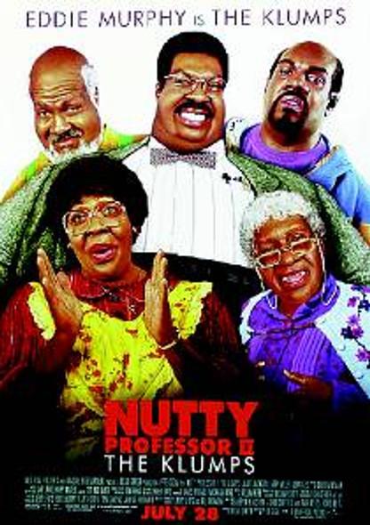 THE NUTTY PROFESSOR 2:THE KLUMPS ORIGINAL CINEMA POSTER