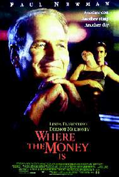 WHERE THE MONEY IS (SINGLE SIDED) ORIGINAL CINEMA POSTER