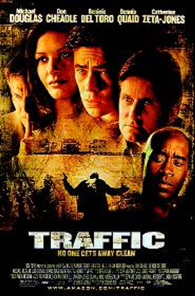 TRAFFIC (Single Sided Regular) ORIGINAL CINEMA POSTER
