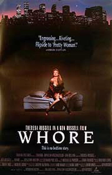WHORE (DOUBLE SIDED) ORIGINAL CINEMA POSTER