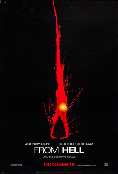From Hell (Advance) Original Cinema Poster