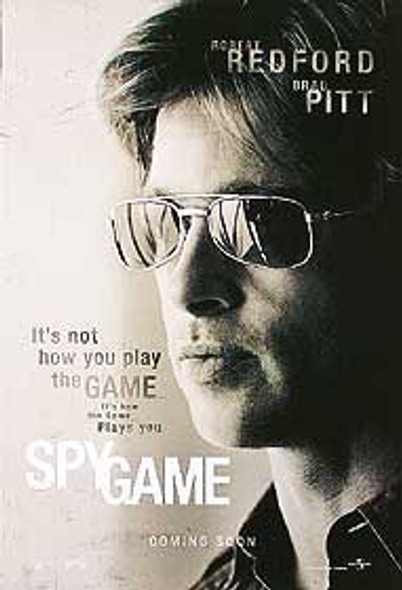 SPY GAME (DOUBLE SIDED Advance) ORIGINAL CINEMA POSTER