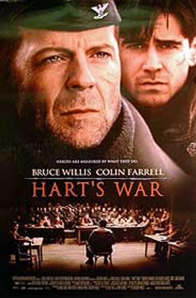 HART'S WAR (DOUBLE SIDED) ORIGINAL CINEMA POSTER