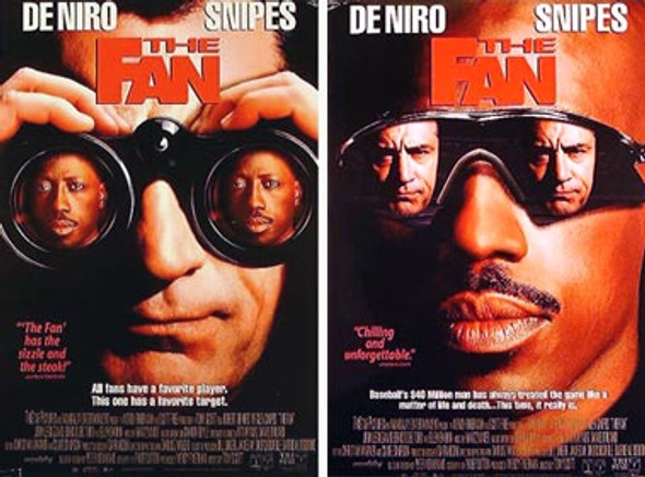 THE FAN (Double-sided) ORIGINAL CINEMA POSTER