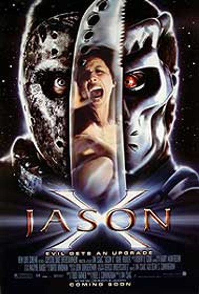 JASON X (Advance) ORIGINAL CINEMA POSTER