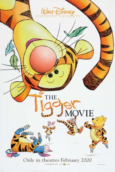 THE TIGGER MOVIE (Double Sided Advance) ORIGINAL CINEMA POSTER