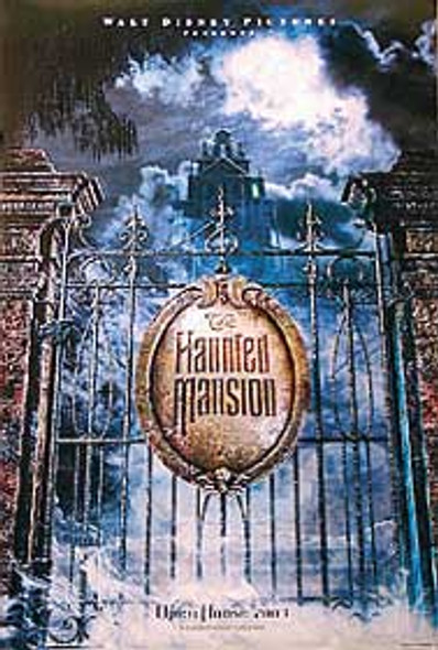 THE HAUNTED MANSION (Double Sided Advance) ORIGINAL CINEMA POSTER