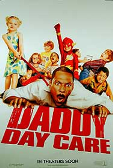 DADDY DAY CARE (Double Sided Advance) ORIGINAL CINEMA POSTER