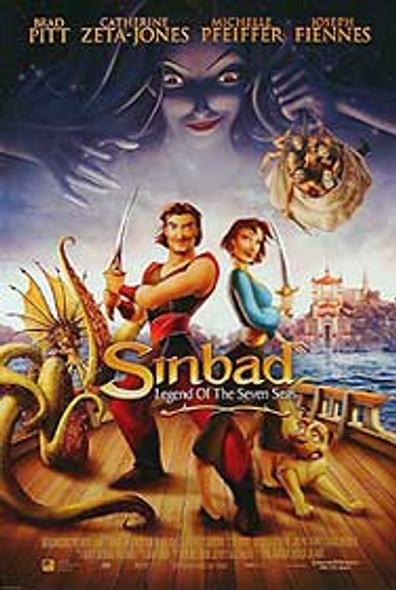 SINBAD: LEGEND OF THE SEVEN SEAS (Double Sided International) ORIGINAL CINEMA POSTER