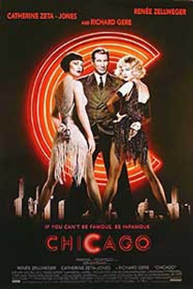 CHICAGO (Single Sided Advance) ORIGINAL CINEMA POSTER