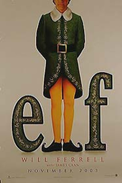 ELF (Double Sided Advance) ORIGINAL CINEMA POSTER