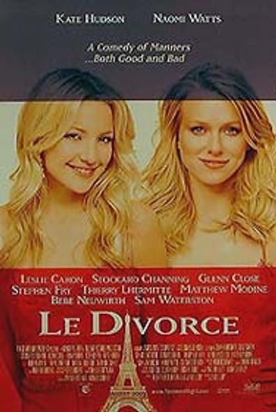 LE DIVORCE (Double Sided Regular) ORIGINAL CINEMA POSTER