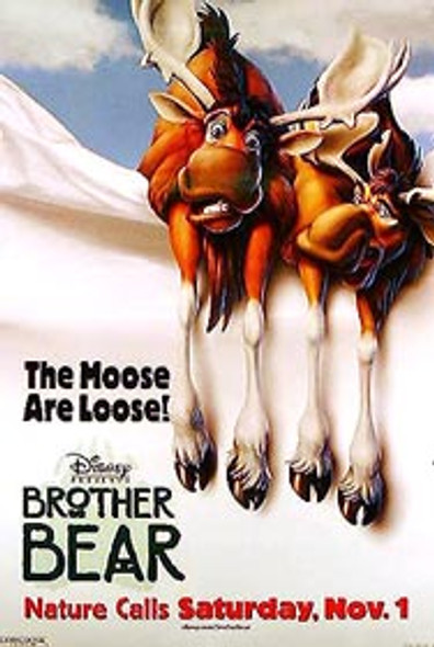 BROTHER BEAR (Double Sided Advance Style B) ORIGINAL CINEMA POSTER