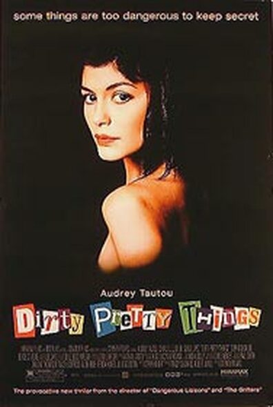 DIRTY PRETTY THINGS (Single Sided Regular) ORIGINAL CINEMA POSTER